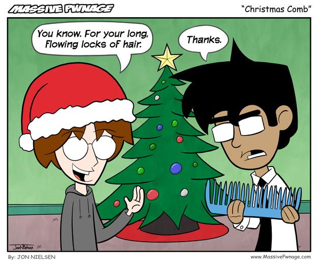 Christmas Comb