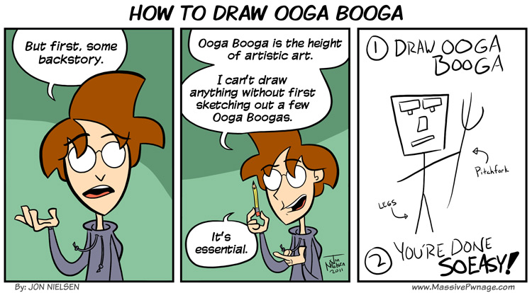 How to Draw Ooga Booga