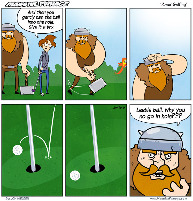 Power Golfing