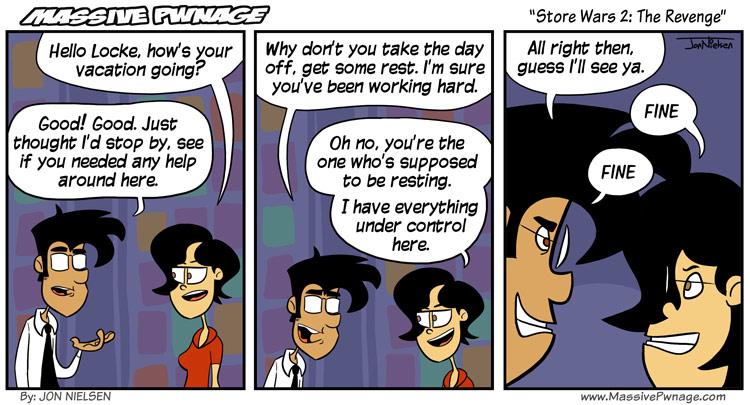 Store Wars 2: The Revenge