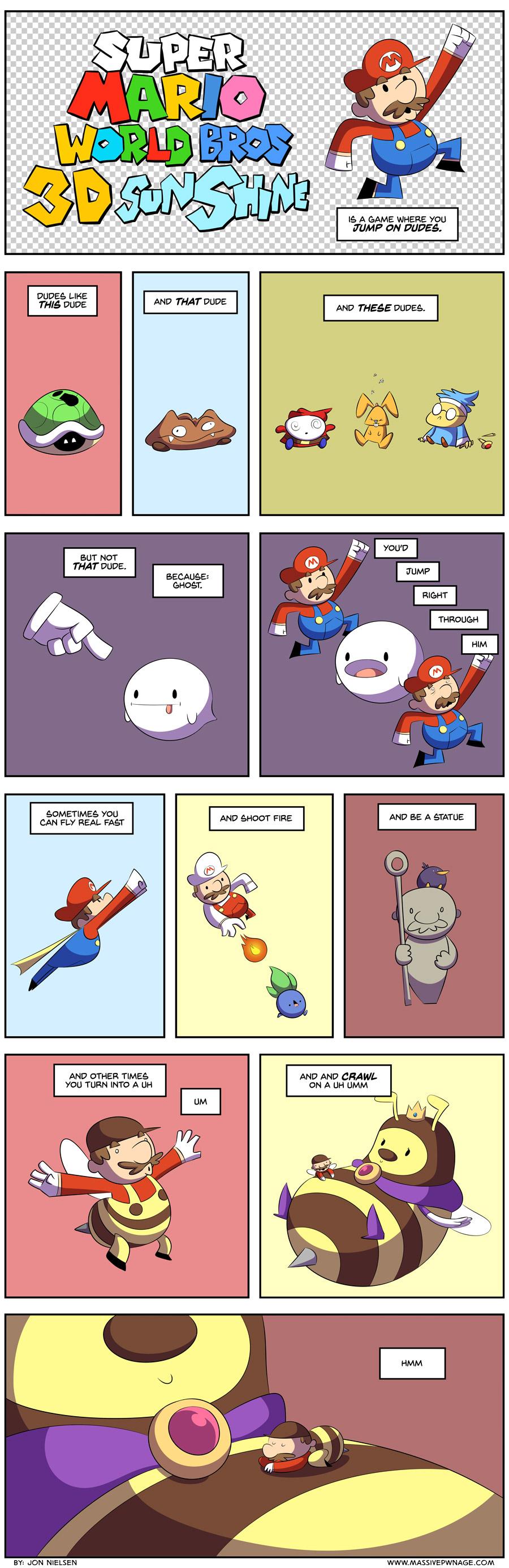 Mario Summed Up